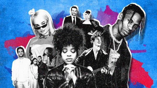 Top 100 beste muziek nummers 2018