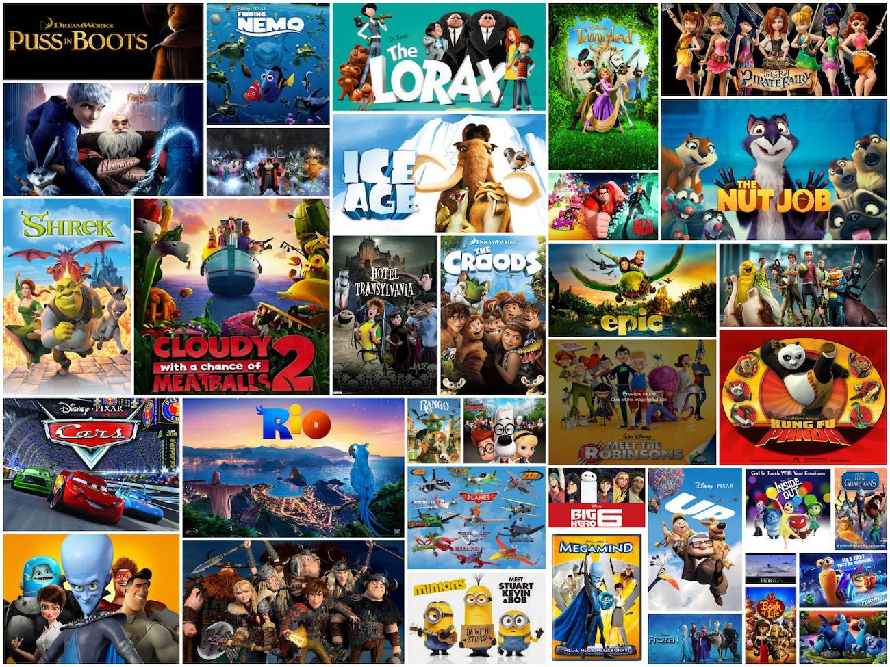 Top 100 beste cartoons die verfilmd zijn