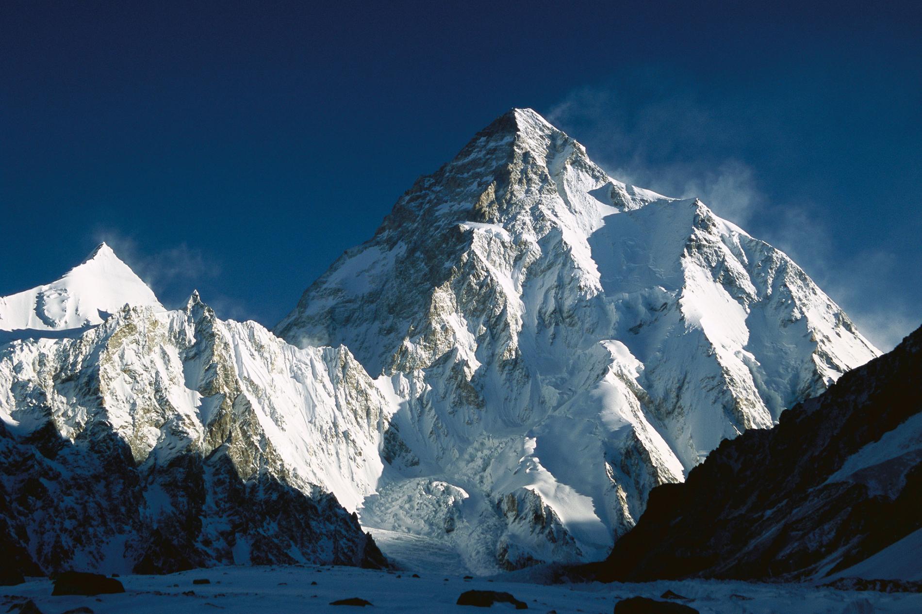 Top 100 hoogste bergen